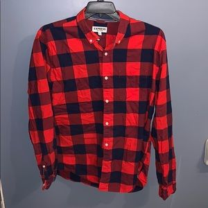 Express plus long sleeve button up